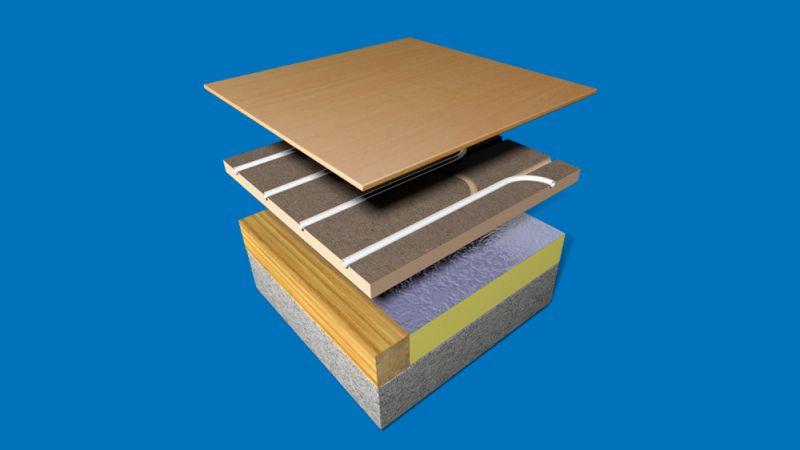 Tpa20 Aquafloor Pre Grooved 22mm Chipboard Underfloor